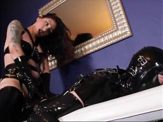 Slave Destroyed By Mistress With Huge Cock