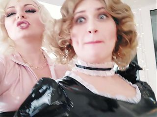 Selfie with maid, pvc video
