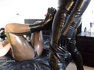 Latex Strapon 3 – Bdsm Bondage Slave, Femdom