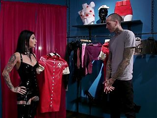 Joanna Angel Takes It Out On Her Cheap Customer