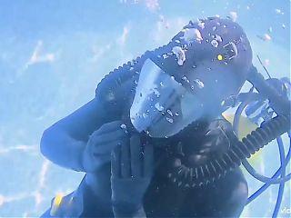 Vicky Devika Underwater Scuba Fetish Compilation