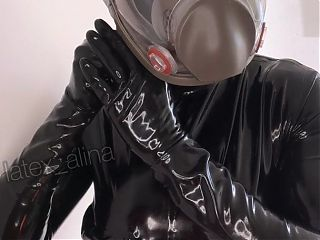 Rubber Doll Getting Ready For a BreathPlay