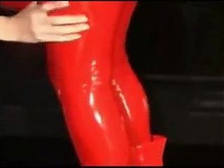 Black and Red Rubber