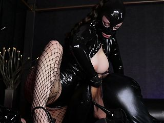Wearing latex, anal training for my sissy slut, Preview