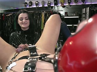 German Mistress – extreme anal and Electric Prostate Milking