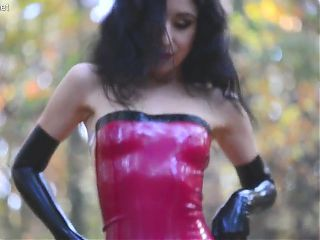 Marilyn Yusuf Part 76 - Wearing Red Latex Dress (Teaser)