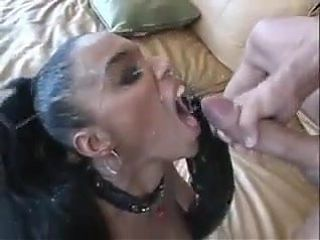 HUGE CUMSHOT SCENE - USA Interracial Scene