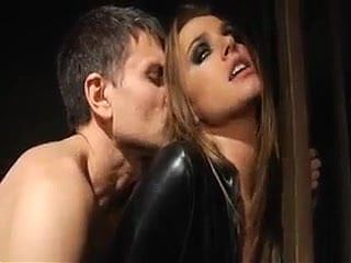 Tori Black in Black Spandex Catsuit takes what she wants