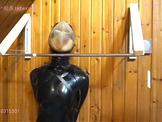 Xiaomeng with Armbinder and Breathplay Hood