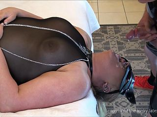 extreme cumshot, cum in mouth and face