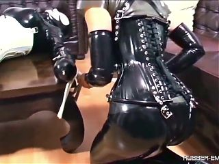 Rubberdoll may serve her mistress