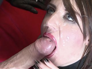 Marc Rose cums on Samantha Bentley