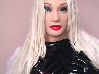 Latex Doctor Doll is Ready To Examine You