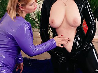 Belly Button Fetish Teaser Video Lesbian Relax at home